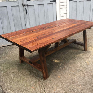106 Year Old Reclaimed Dining Table