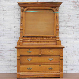 American Made Antique Dresser Or Server - Front