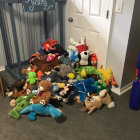 Bungee Storage Stuffed Animals Out