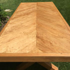 Chevron Dining Table Top