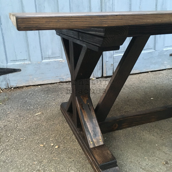Farmhouse Table Leg Styles Eu07 Roccommunity