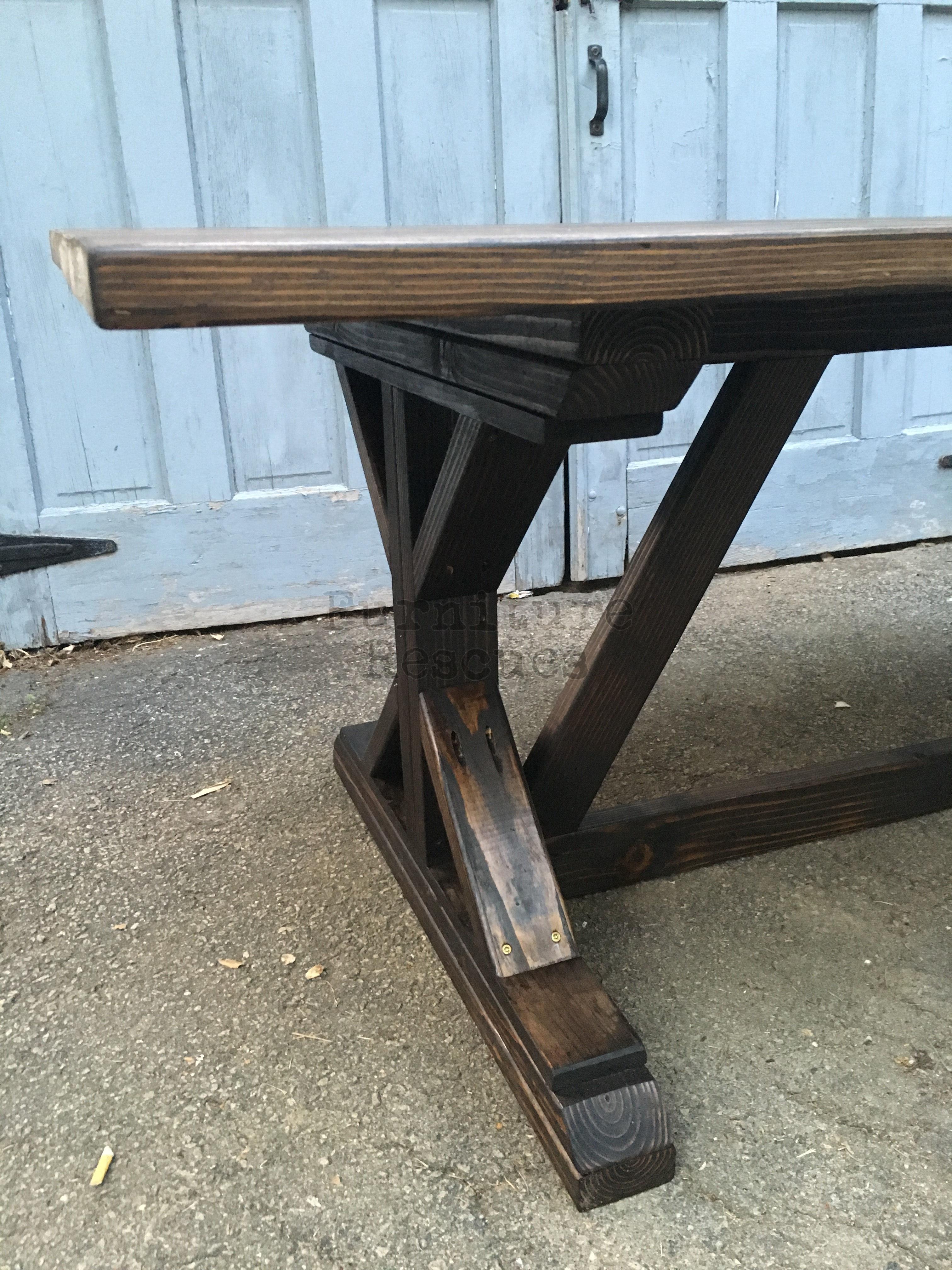 Farm Style Rustic Dining Table Furniture Rescues : Farm Style Rustic Dining Table Legs from www.furniturerescues.com size 3024 x 4032 jpeg 3872kB