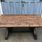Farm Style Rustic Dining Table Top