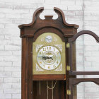 Grandfather Clock - Has Upcycle Potential - Clock Closeup