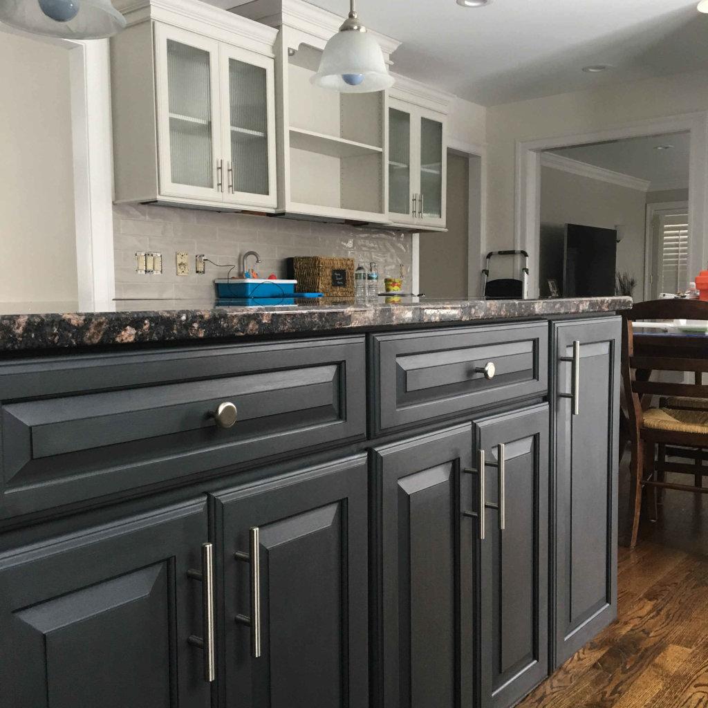 Kitchen Cabinet Painting & Antique
