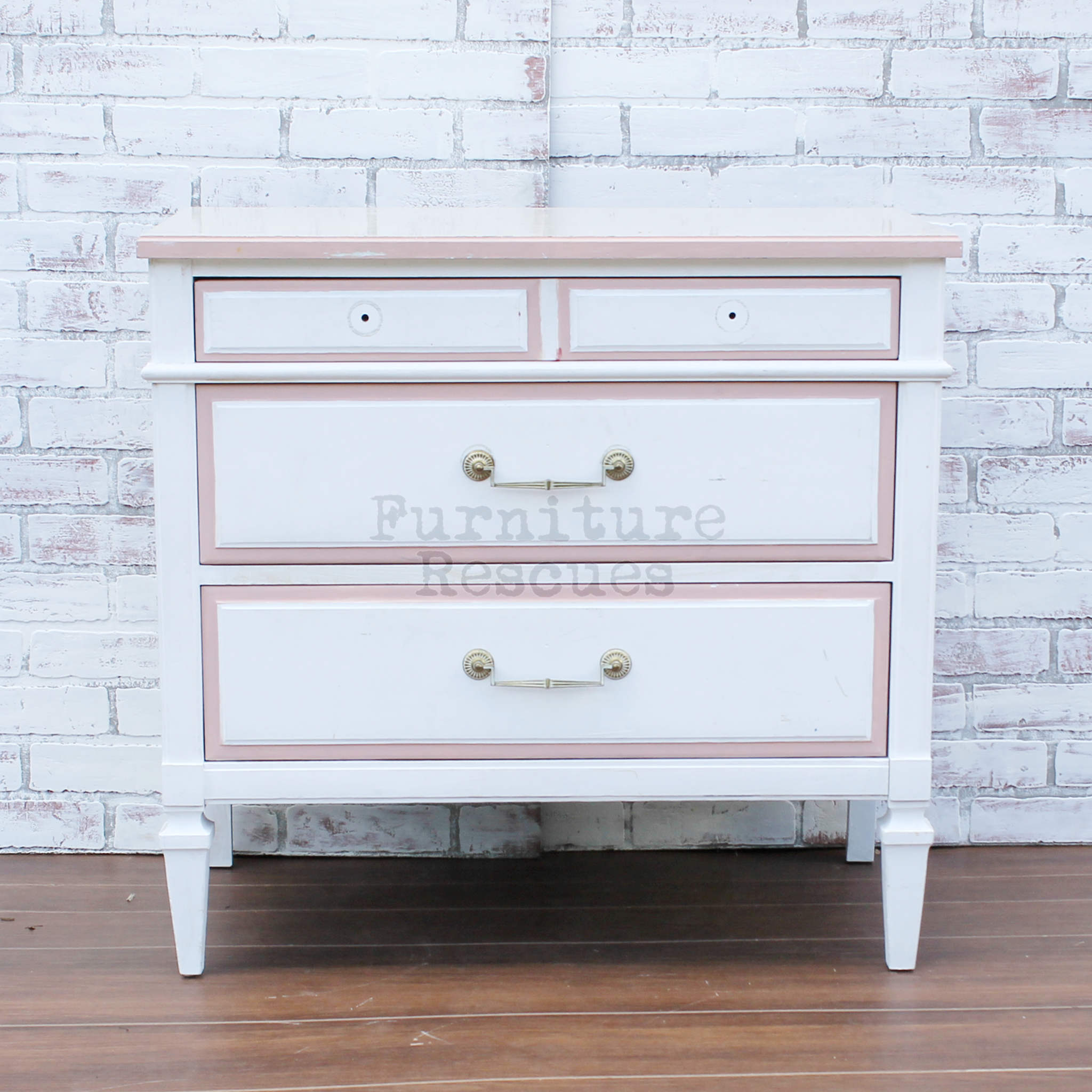Kent Coffey Small White Cabinet