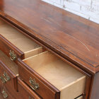 Long Dresser Or Upcyle To Media Cabinet - Open Drawers
