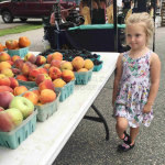 Lucy At Farmers Market