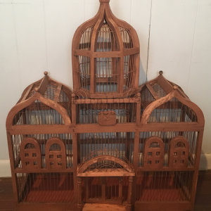 Ornate Bird Cage Front