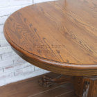 Small Clawfoot Pedestal Dining Table - Top