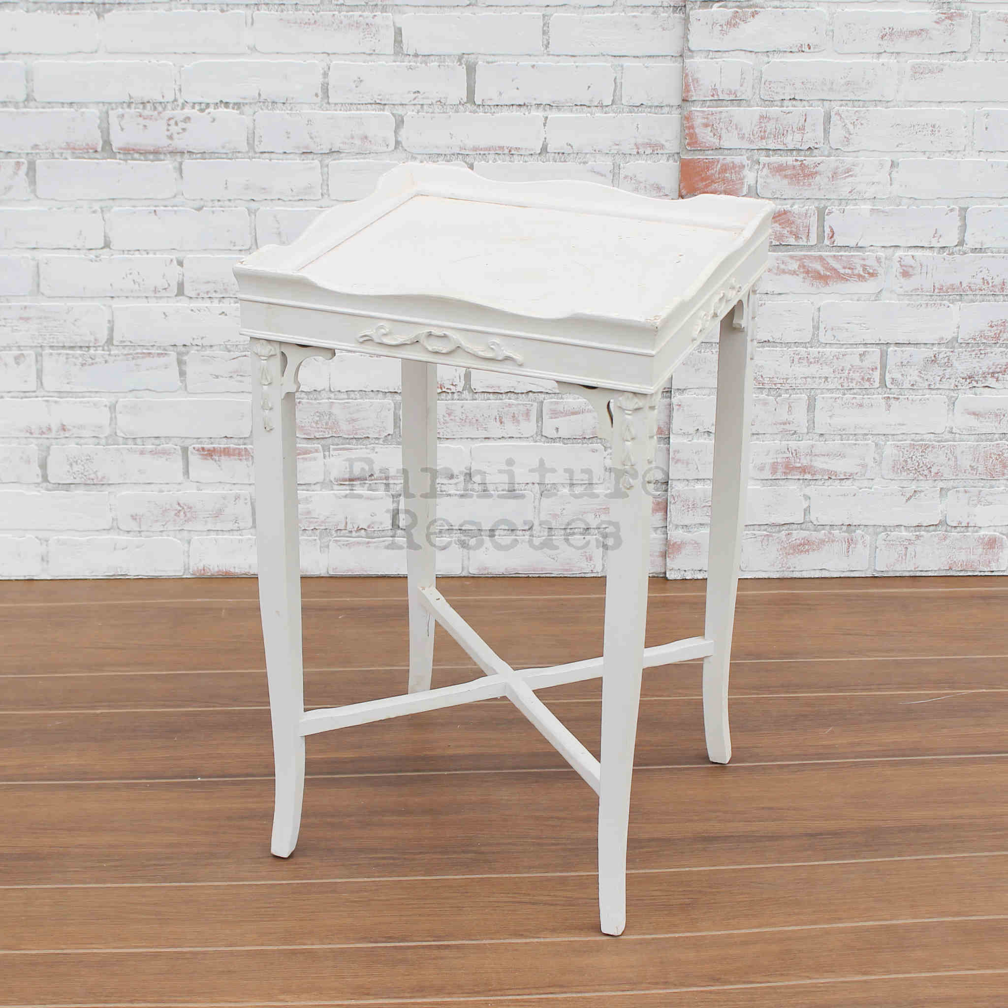 Small White Accent Table Furniture Rescues