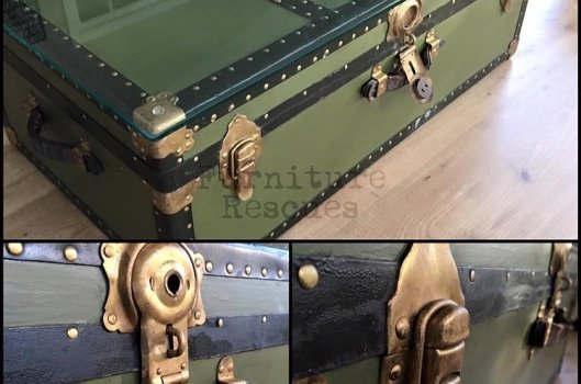 Steamer Trunk Upcycle
