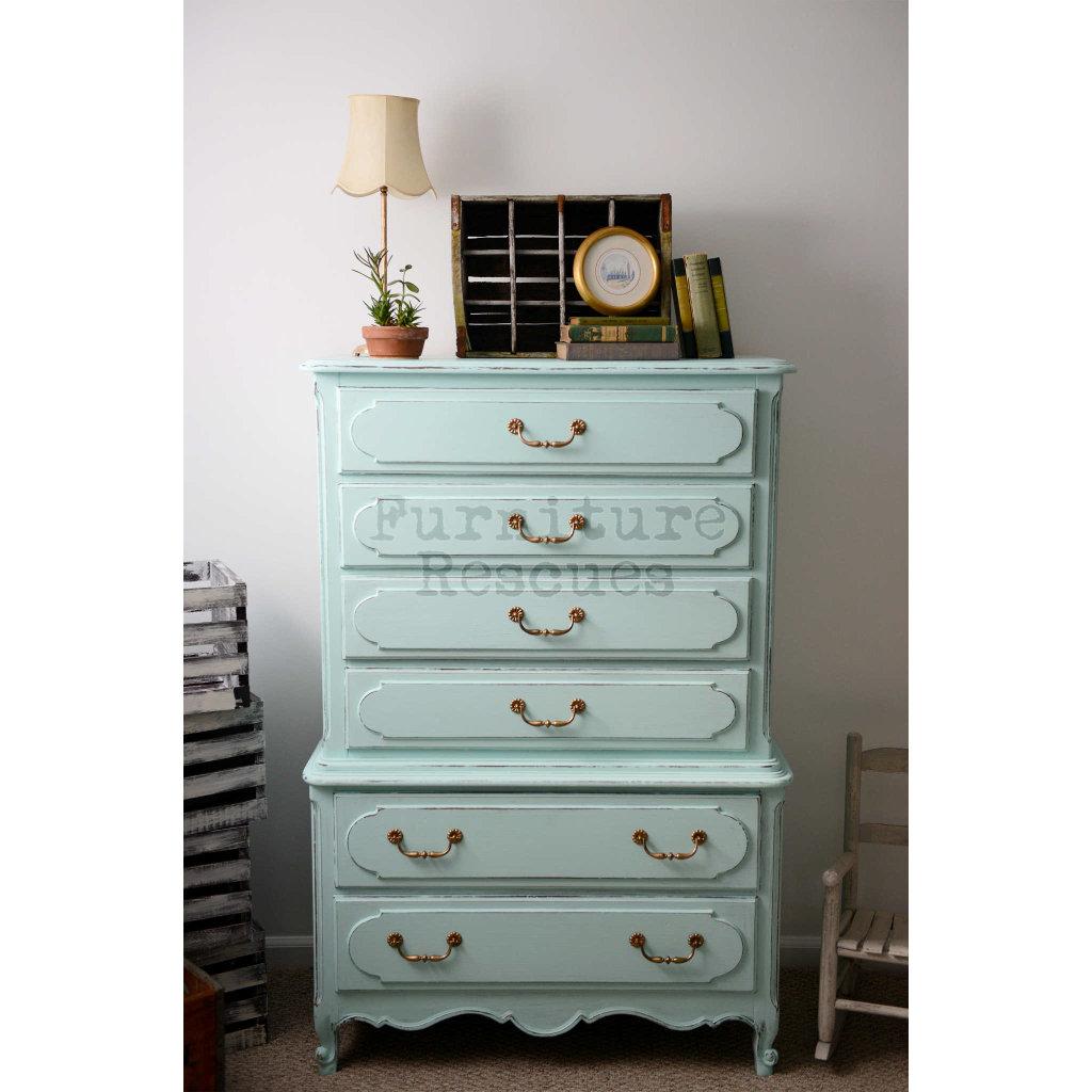 Summer Green Dresser Front