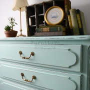 Summer Green Dresser Top Closeup