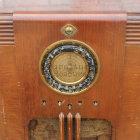 Truetone 1930s Radio - Front Closeup